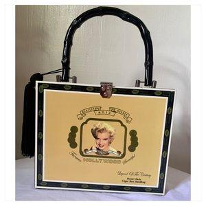Marilyn Monroe Custom made Cigar Box/ Handbag